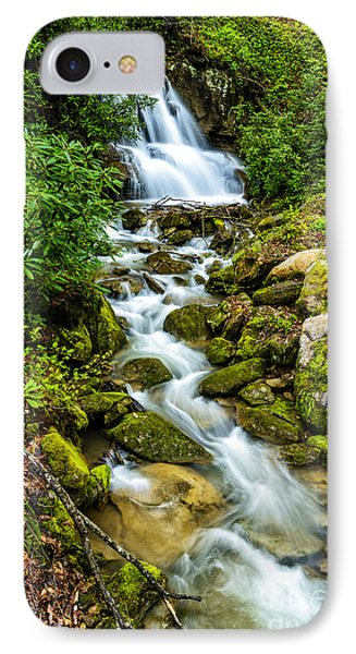 Waterfall Back Fork Of Elk IPhone Case by Thomas R Fletcher