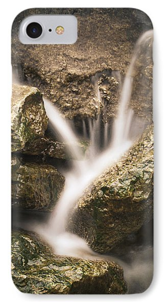 Waterfall Detail  IPhone Case by Scott Meyer
