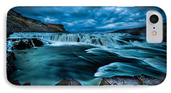 Waterfall Drama IPhone Case by Chris McKenna