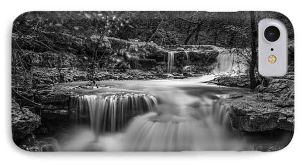 Waterfall In Austin Texas - Square IPhone Case