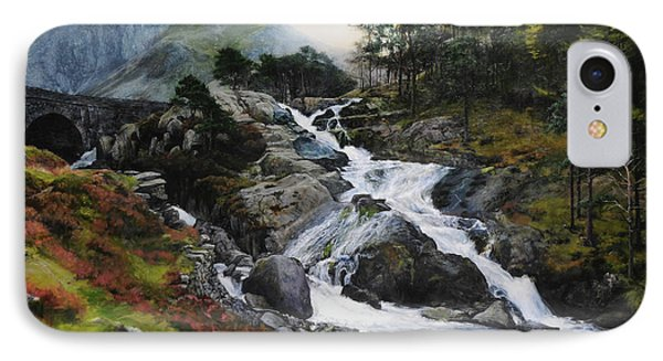 Waterfall In February. IPhone Case