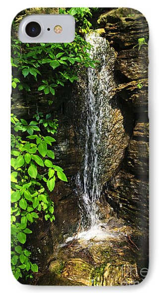 Waterfall In Forest Phone Case by Elena Elisseeva