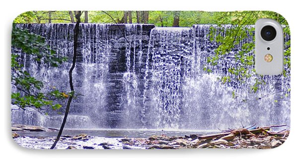 Waterfall In Gladwyne Phone Case by Bill Cannon