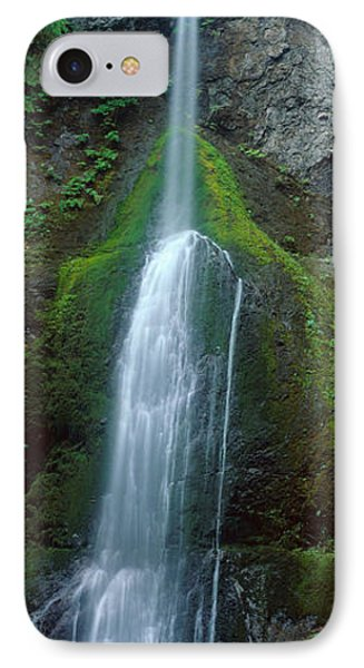 Waterfall In Olympic National Rainforest IPhone Case