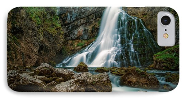 Waterfall IPhone Case by Martin Podt