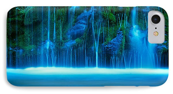 Waterfall On A Cliff, Mossbrae Falls IPhone Case