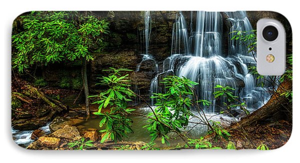 IPhone Case featuring the photograph Waterfall On Back Fork by Thomas R Fletcher