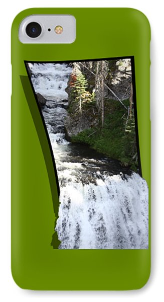 Waterfall IPhone Case by Shane Bechler