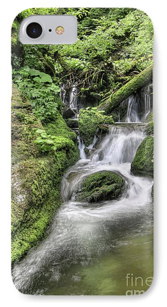 IPhone Case featuring the photograph Waterfalls And Rapids On The White Opava Stream by Michal Boubin