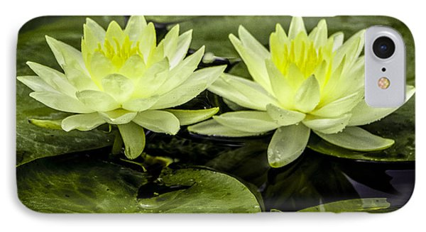 Waterlily Duet IPhone Case