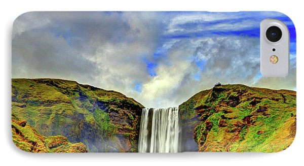 IPhone Case featuring the photograph Watermall And Mist by Scott Mahon
