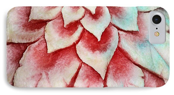IPhone Case featuring the photograph Watermelon Carving by Kristin Elmquist