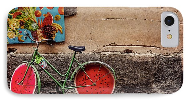 Watermelon Wheels IPhone Case by Happy Home Artistry