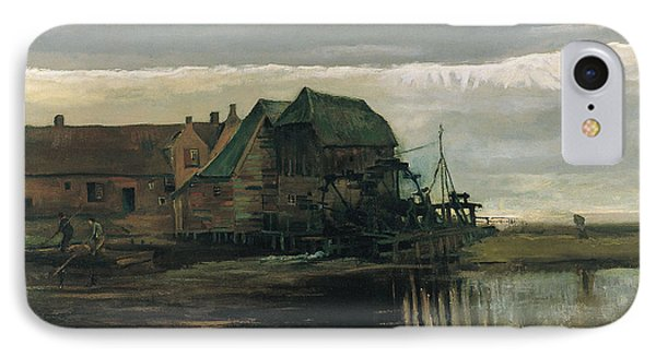 Watermill At Gennep IPhone Case by Vincent Van Gogh
