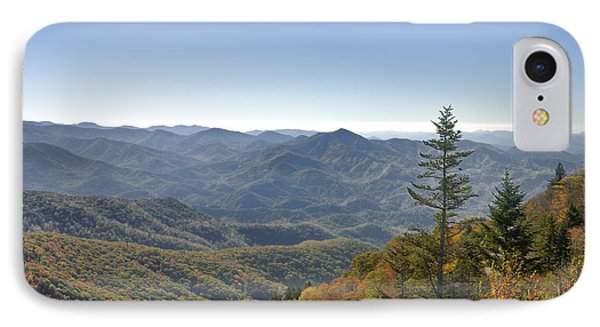 Waterrock Knob On Blue Ridge Parkway Phone Case by Darrell Young