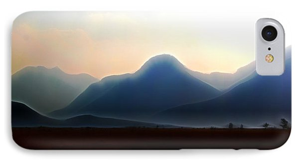 Waterton - Mountain Panorama IPhone Case by Stuart Turnbull