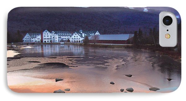 Waterville Valley Sunset IPhone Case by Nancy Griswold
