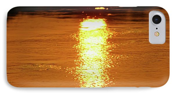 Watery Sunset IPhone Case by Martina Fagan