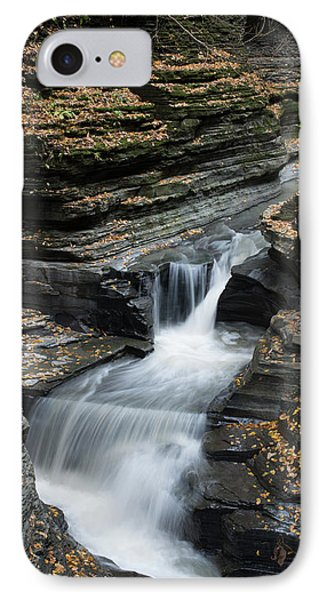 IPhone Case featuring the photograph Watkins Glen Rapids by Joshua House