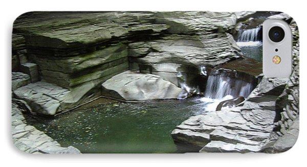 IPhone Case featuring the photograph Watkins Glen State Park by John Schneider
