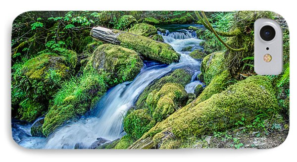 Watson Creek Falls Oregon IPhone Case by Scott McGuire