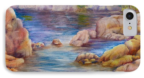 Watson Lake 2 IPhone Case by Melanie Harman