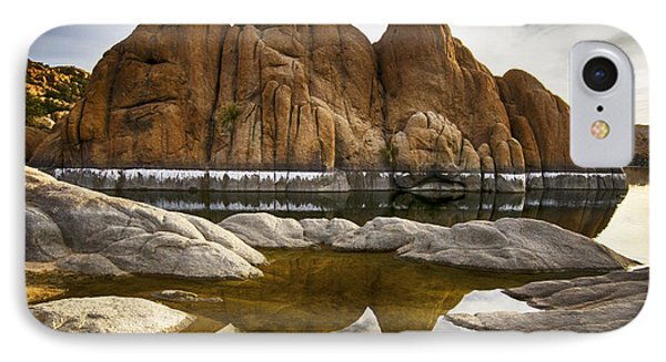 Watson Lake Arizona 11 IPhone Case by Bob Christopher