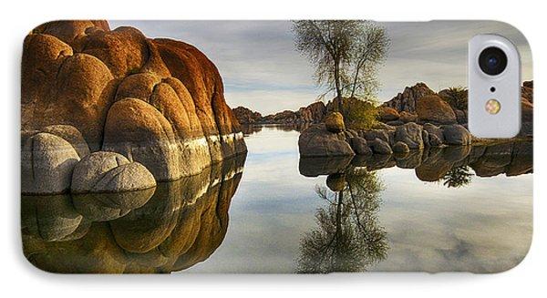 Watson Lake Arizona 12 IPhone Case by Bob Christopher
