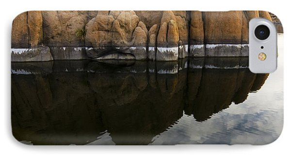 Watson Lake Arizona 7 IPhone Case by Bob Christopher