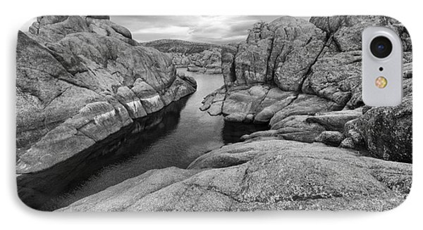 Watson Lake Arizona 8 IPhone Case by Bob Christopher