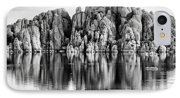 Watson Lake Arizona 9 IPhone Case by Bob Christopher