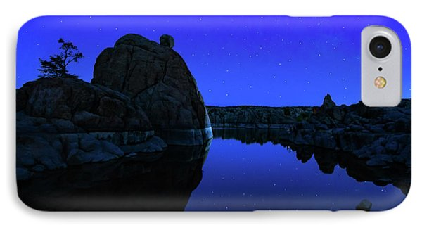 Watson Lake Moonshine IPhone Case