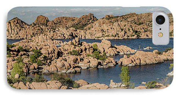 Watson Lake Panorama 2 IPhone Case