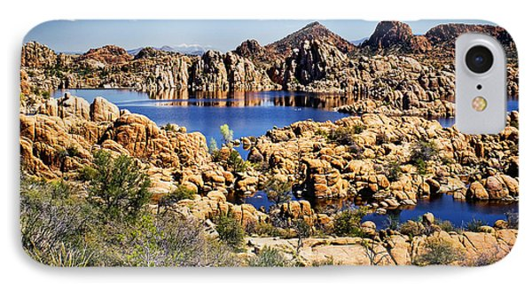 Granite Dells At Watson Lake IPhone Case by Priscilla Burgers