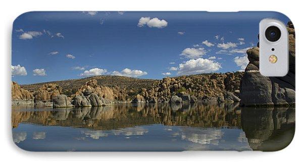 Watson Lake Reflection IPhone Case