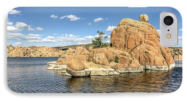 Watson Lake Rock Island IPhone Case