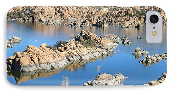 Watson Lake Wonder IPhone Case by Teresa Zieba