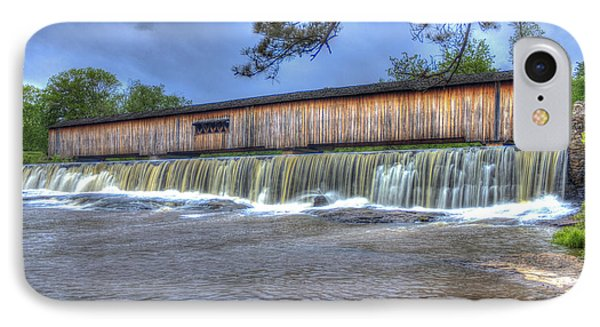 Watson Mill Covered Bridge State Park IPhone Case