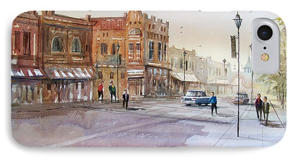 Waupaca - Main Street IPhone Case by Ryan Radke