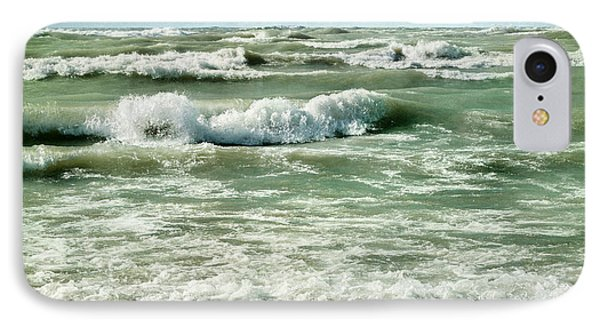 Wave Action IPhone Case by Kathi Mirto