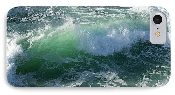 Wave At Montana De Oro IPhone Case by Michael Rock