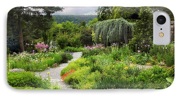 Wave Hill Spring Garden IPhone Case by Jessica Jenney