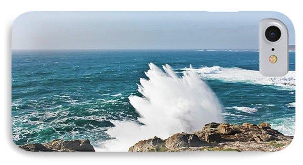Wave Like Quartz Phone Case by Terri Waters