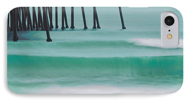 Wave On Wave IPhone Case by Marnie Patchett