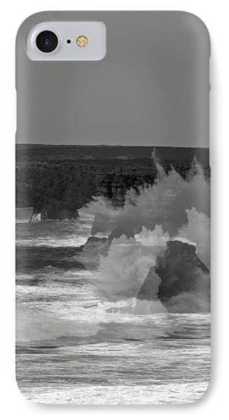 Wave Overlay Of Sagres Wind Storm IPhone Case by Cadence Moore