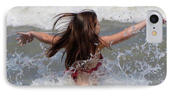 Wave Splash Phone Case by Maciek Froncisz