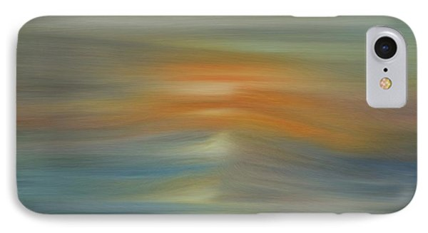 Wave Swept Sunset IPhone Case by Dan Sproul