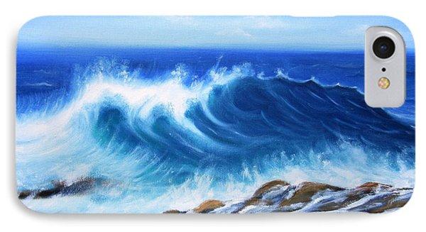 Wave IPhone Case by Vesna Martinjak