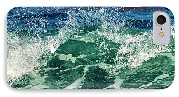 Wave3 IPhone Case by Stelios Kleanthous