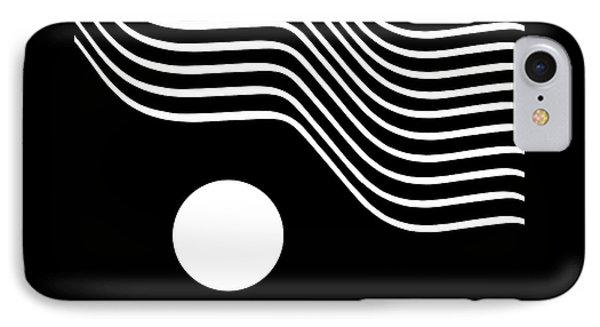 Waved Abstract IPhone Case by Joe Bonita